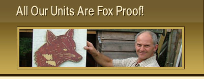 fox proof animal houses