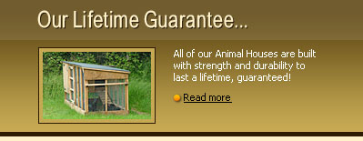 life time guarantee | poultry houses